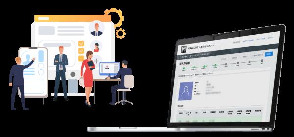 「人事評価システム」のイメージ画像
